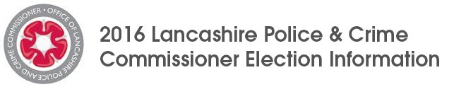 Lancashire Police and Crime Commissioner Elections